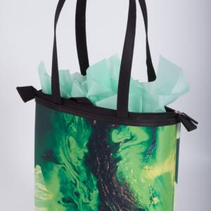 Emerald Colors Large Bag